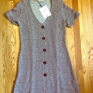 Brand New Zara Button Down Dress